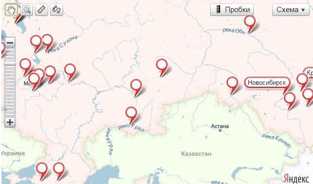 Наши клиенты и партнеры по России